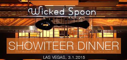 Showiteer Dinner in Vegas 2015