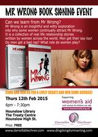 Mr Wrong Book Signing Event, Hounslow Library