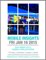 App-Promo and Tapped Mobile present Mobile Insights...