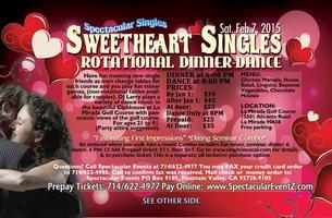 SWEETHEART SINGLES ROTATIONAL DINNER DANCE (couples...