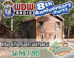 WDW Radio 8th Anniversary Celebration