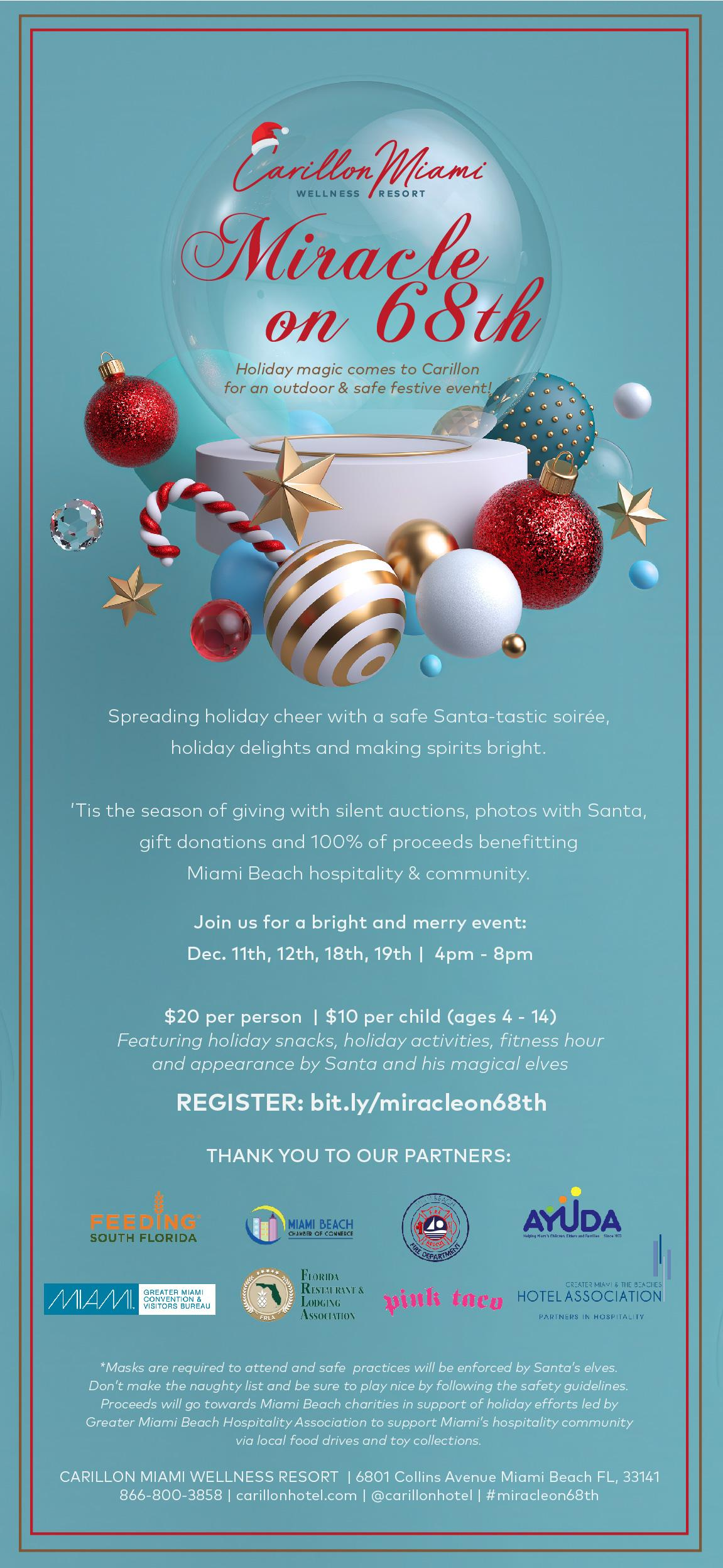 Carillion's Miracle on 68th Street Pop-Up Event