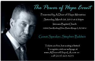 The Power of Hope w/Stephen Baldwin