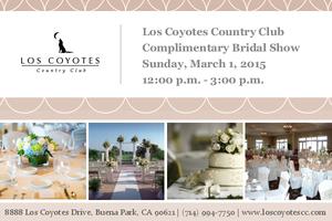 Los Coyotes Wedding Show Weekend Bridal Show