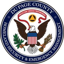 DuPage County Office of Homeland Security and Emergency Management (OHSEM) logo