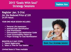 Goals With Soul, Strategy Sessions