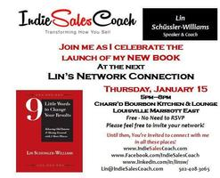Lin's Network Connection and Book Launch Celebration!