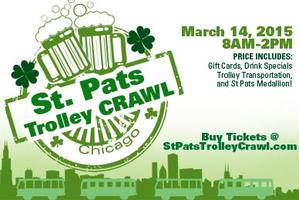 (StPatsTrolley.com For Tickets) St. Pats Trolley Bar...