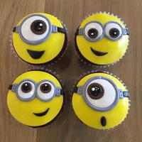 Minion Cupcake Class