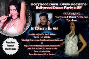 Bollywood Blast ~Disco Deewane~ Bollywood Dance Party...
