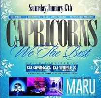 Capricorns: We The Best