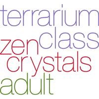Zen Crystal Terrarium Class