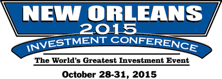The 2015 New Orleans Investment Conference