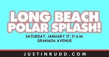 Long Beach Polar Splash! & 30-Minute Beach Cleanup