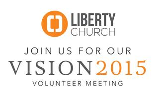 Vision 2015 Volunteer Meeting
