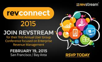 RevConnect 2015 | RevStream Annual User Group...