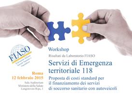 Workshop Servizi di Emergenza territoriale 118,...