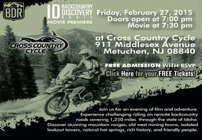 Idaho Backcountry Discovery Route Movie Premiere