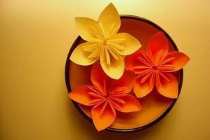 Taller ORIGAMI/ Papiroflexia - tema las flores