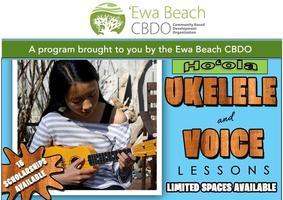 Ho'ola Voice I Program 10-14 yrs: Saturdays 11:30...