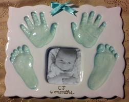 **Create a Timeless Ceramic Baby Keepsake**  Precious...