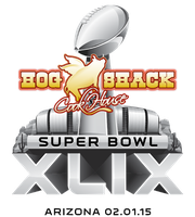 Super Bowl XLIX BBQ Buffet & Cask @ Hog Shack