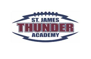 Thunder Football Camp Grades 2-8 June 17-20, 9-11:30 a.m.