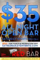 Open Bar Ticket - Saturday