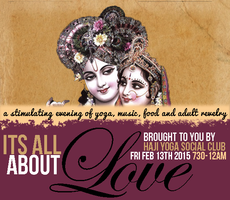 It's All About Love: Yoga::Music::Food::Fun and Adult...