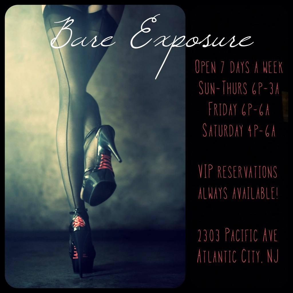 Bare Exposure AC Gentleman's Club VIP Guest List Passes