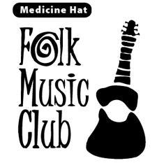 Medicine Hat Folk Music Club and 102.1 CJCY  logo