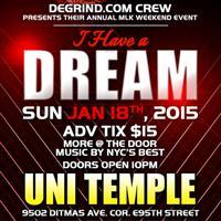 """DREAM"" DEGRIND ANNUAL MLK EVENT"