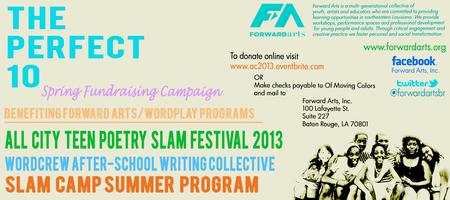 ALL CITY Teen Poetry Slam Festival 2013