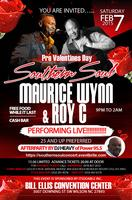 Pre Valentines Day Southern Soul Concert and Afterparty