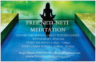 FREE Neti Neti Meditation