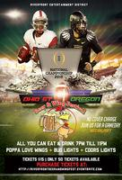 College Football Championship Beer & Wing Fest @RED