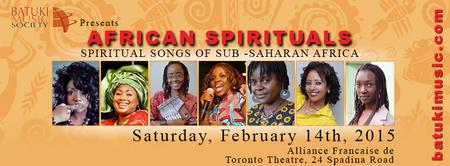 Spiritual Songs of Sub-Saharan Africa
