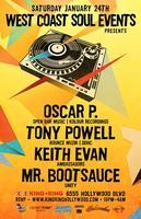 WCS Events - Deep House!  Oscar P. | Tony Powell |...