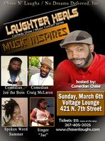 Chase N' Laughs: Laughter Heals Comedy Show