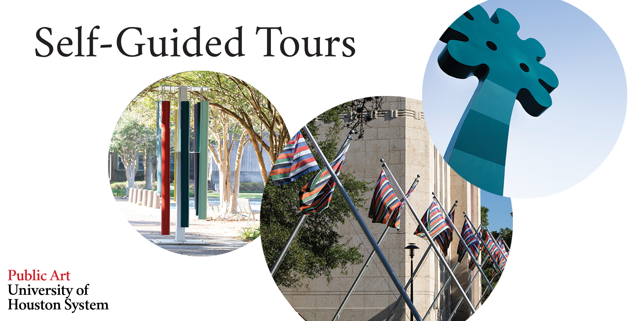 Public Art UHS self-guided tours of UH's outdoor sculptures and Color Field