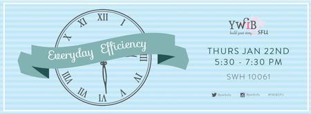 YWiB SFU Everyday Efficiency Workshop