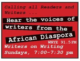 """""""Writers on Writing"""" Radio Show Hosted by Dr. Brenda..."""