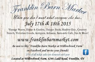 Franklin Barn Market 2015