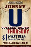 College Night Dollar Beers @ Johnny Utah's Midtown