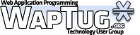 Web Applications Programming Technology User Group Meet...