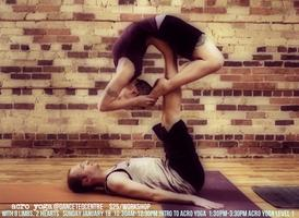 Acro Yoga workshops @DanceTeqCentre
