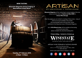 Winestate Magazine Annual Judging of New Release &...