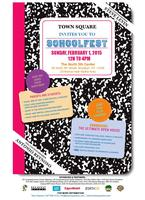 SCHOOLFEST 2015, Sunday, February 1, 12-4 PM