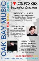 Oak Bay New Music Festival - Valentine Concerts