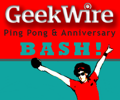GeekWire Ping Pong & Anniversary Bash 2015